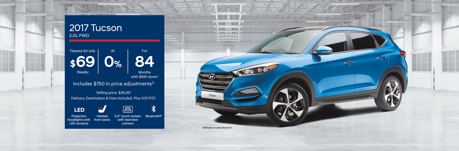 2017 Tucson - Finance from only $69 Weekly