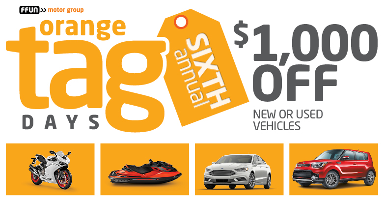 $1000 off new or used vehicles