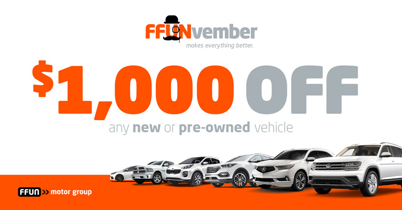 $1000 Off Any New or Pre-Owned Vehicle