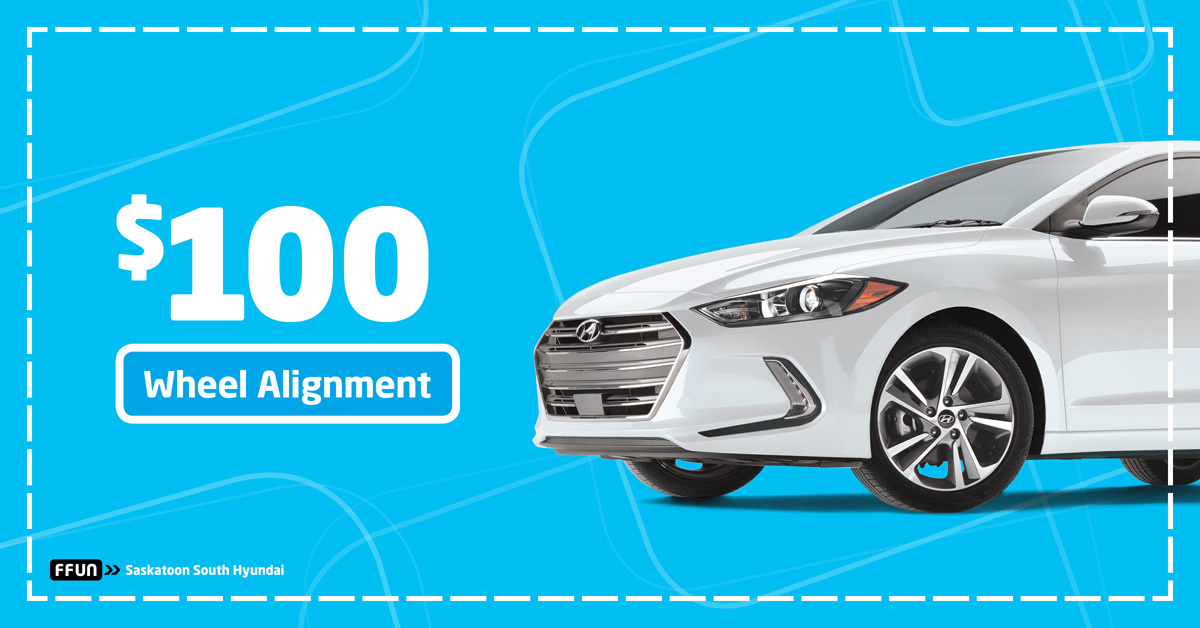 $100 Wheel Alignment