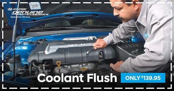 Coolant Flush $139.95
