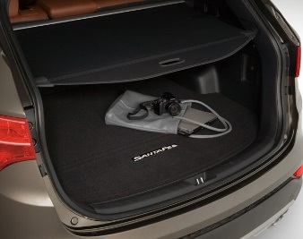 2015-2018 Santa Fe Sport Retractable Cargo Cover