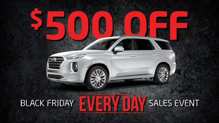 $500 Off New and Used