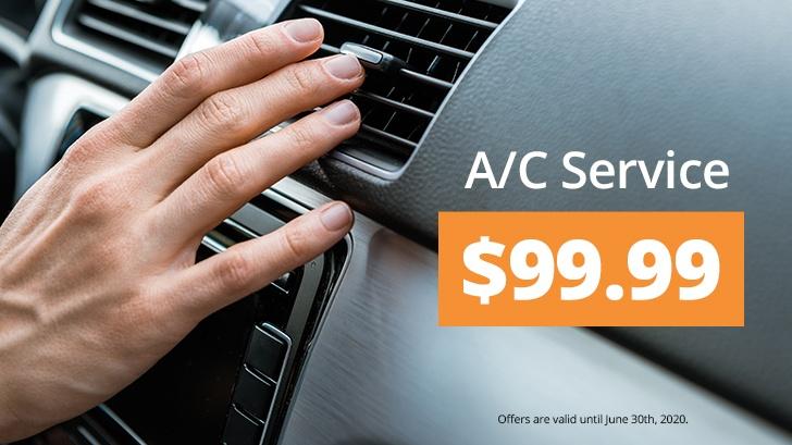 A/C Service $99.99!