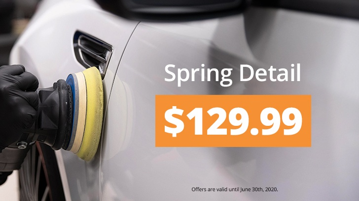 Spring Detail Starting at $129.99